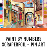 Paint by Numbers and Scraperfoils